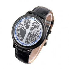 """СЕНСОРНЫЕ Touch LED наручные часы ABYSS """"древо жизни"""""""