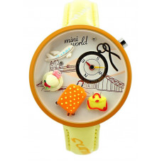 "Часы наручные ""World"" Mini. Сделаны вручную. Корея"