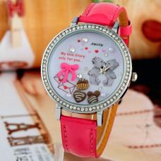 """Часы наручные """"Teddy Bear Love"""" Amutn ручной работы"""