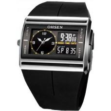 Часы наручные спортивные Ohsen с двумя дисплеями