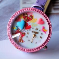 """Часы наручные """"lovely gift"""" Mini. Сделаны вручную. Корея"""