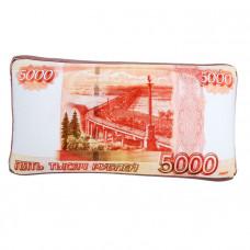 """Подушка-антистресс """"5000 рублей"""" мини"""