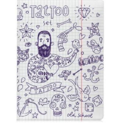 Обложка для паспорта (Tattoo)