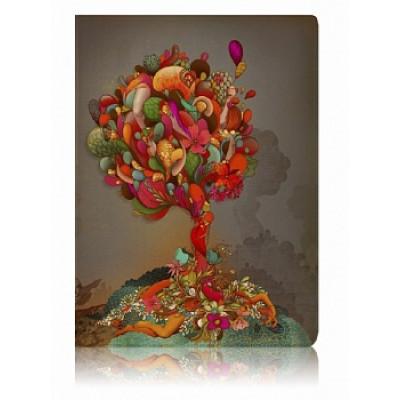"""Обложка для паспорта """"Colorful Tree"""""""