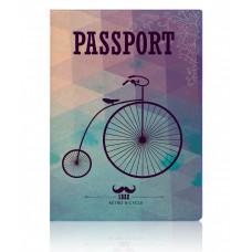 """Обложка для паспорта  """"Retro Bicycle"""""""