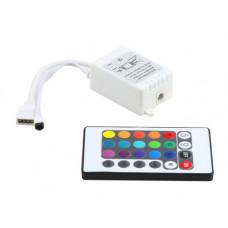 Контроллер 24 кнопки для светодиодной ленты