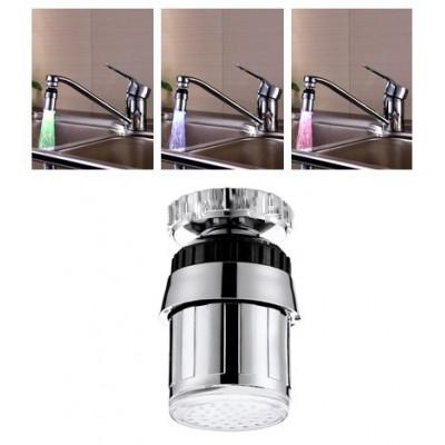 СВЕТОКРАН - насадка на кран с подсветкой воды и термодатчиком 360 градусов