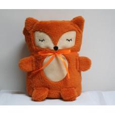 """Плед-Игрушка """"Оранжевая Лисичка"""" 60 x 90 см"""