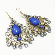 Серьги Venezia blue