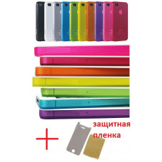 Ультратонкий чехол (iCoat) 0.4мм для iPhone 4/4S