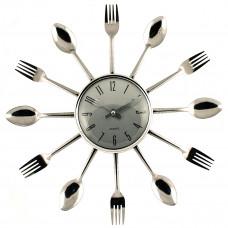 """Настенные часы """"Вилки и ложки"""" (Как в сериале """"Кухня"""") Металл"""