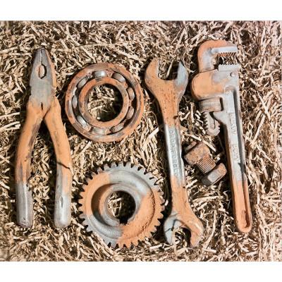 Шоколадный набор инструментов «Мечта мужчины»