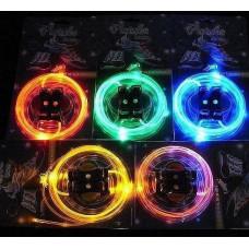 Светящиеся LED шнурки для обуви (пара)
