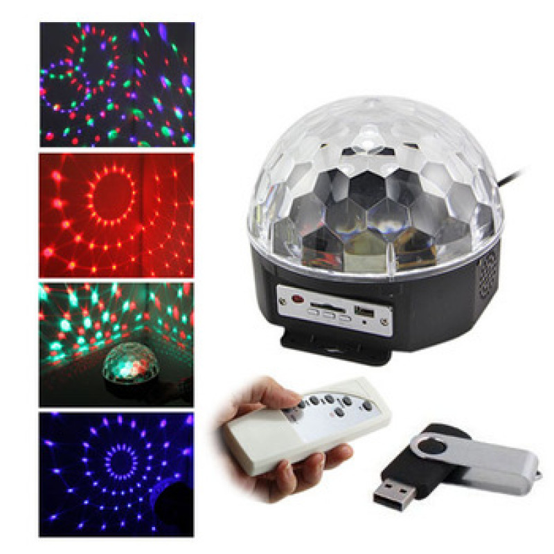 Led crystal magic ball light схема