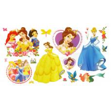 """Наклейка интерьерная """"Принцессы Disney"""""""