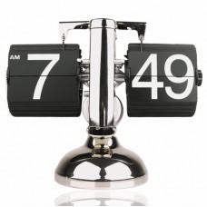 """Часы Перелистывающиеся """"Flip Clock Ретро Америка"""" Белые/Черные"""