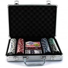 Набор покер 200 фишек