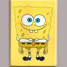 """Обложка для паспорта """"Спанч Боб"""""""