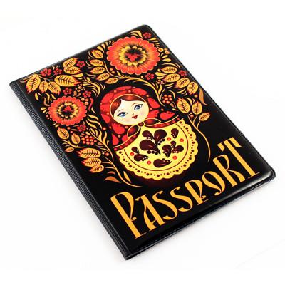 Обложка для паспорт (Матрешка)