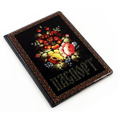 Обложка на паспорт (Цветы)