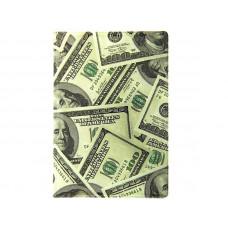 """Обложка на паспорт """"Доллары"""""""