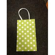 Пакет подарочный бумажный высокий 22X13,5СМ