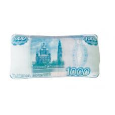 """Подушка-антистресс """"1000 рублей"""""""