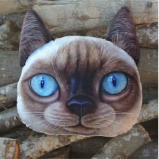 """Подушка 3D """"Сиамский кот"""""""