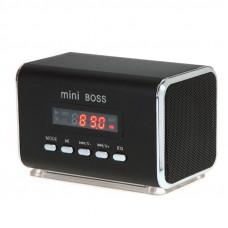 МИНИ-ДИНАМИК, MP3-ПЛЕЕР, КОЛОНКА с очень качественным звуком с FM-радио, USB и Micro SD/TF. Долговечный Литиевый Аккумулятор