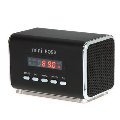 Карманный Динамик Мини-спикер (колонка) с очень качественным звуком с FM, USB и Micro SD/TF