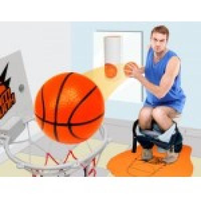 Туалетный Баскетбол - забей гол не вставая с унитаза!