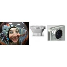 """Магнитная линза для камеры телефона """"fish eye - рыбий глаз - фишай"""" - угол обзора 180 градусов!"""
