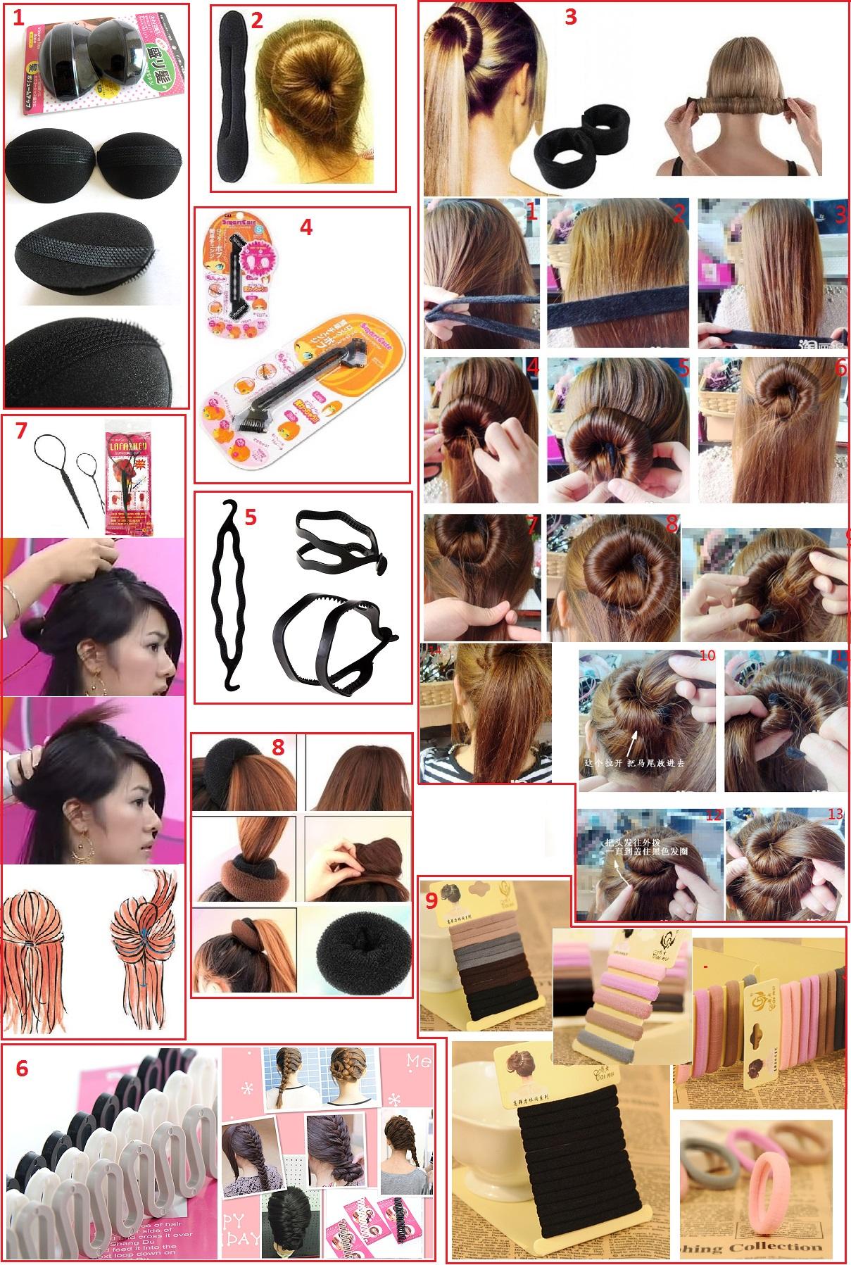 Петля для волос : 10 легких причесок с помощью петли (фото) 2