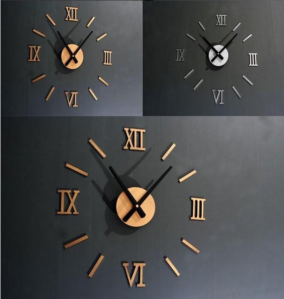 самоклеящиеся часы римские цифры